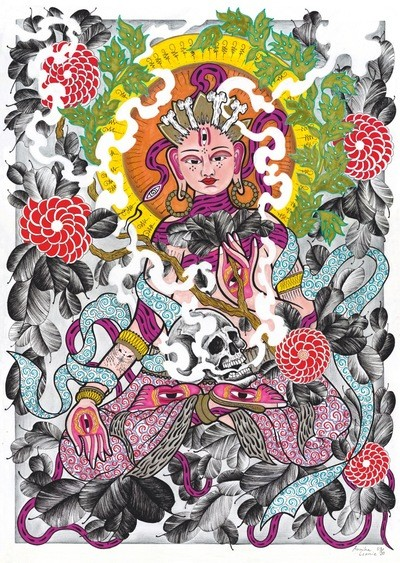 Mantra Print A2