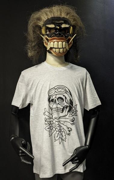 T-Shirt Biker Skull